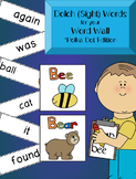 Dolch (Sight) Words for your Classroom Word Wall *Polka Dot Edition