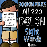 Dolch Sight Words Bookmarks