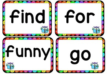 Sight Word Flash Cards, Pre-Primer