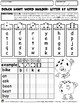 Dolch SightWord Builder Letter-by-Letter-Level C Book1 Grades-K-3