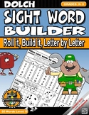 Dolch SightWord Builder Letter-by-Letter-Level D Book1 Grades-K-3