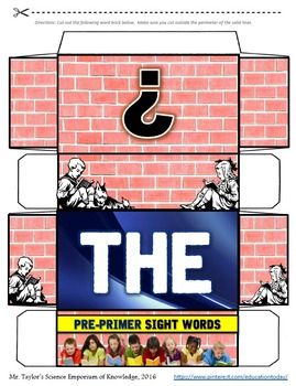 Dolch Sight Words Megabundle: Word Wall (1st, 2nd, & 3rd Grade)
