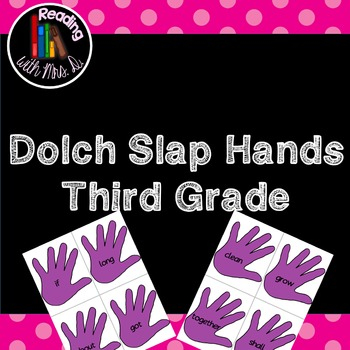 Dolch Slap Hands: Third Grade