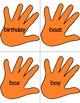 Dolch Slap hands: 95 Nouns