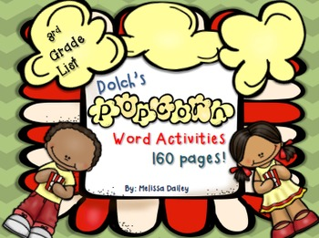 Dolch Third Grade Activities