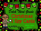 Dolch Third Grade Christmas I Spy Cards