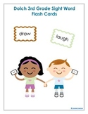 Dolch Third Grade High Frequency Sight Word Vocabulary Fla