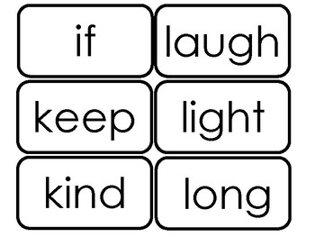 Dolch Third Grade Sight Word Flash Cards in a PDF file. 3rd Grade flash cards.