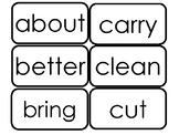 Dolch Third Grade Sight Word Flash Cards in a PDF file. 3r