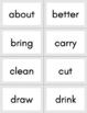 Dolch Third Grade Sight Word Flashcards