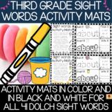Dolch Third Grade Sight Words Activity Mats Set