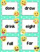 Dolch Third Grade Sight Words Cards- Emoji Theme