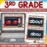 Dolch Digital Sight Words third grade