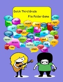 Dolch Third Grade Sight Words File Folder Game