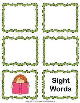 Dolch Third Grade Sight Words Flash Cards
