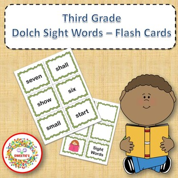 Dolch Third Grade Sight Words Practice and Assessment