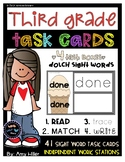 Dolch Third Grade Task Cards [Task Box]