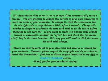 Dolch Third Grade Word List PowerPoint