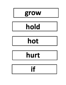 Dolch Third Grade Word Wall Words