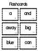 Dolch Word Assessment and Flashcards