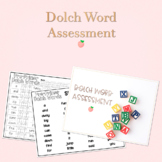 Dolch Word Assessment