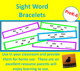 Basic Sight Word Bracelets - Dolch First 100 Words - Dista