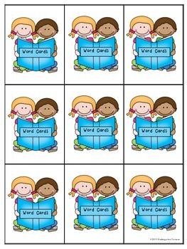 Dolch Word Card Game ~ Set 1 ~ Pre-Primer/Kindergarten Sight Words