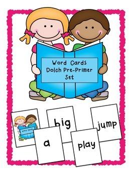 Dolch Word Card Game ~ Set 1 ~ Pre-Primer/Kindergarten Sig