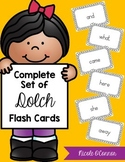 Dolch Word Flash Cards: Complete Set