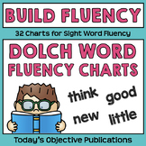 Dolch Word Fluency Charts