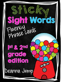 Dolch Word Fluency Phrases first and second grade edition {editable}