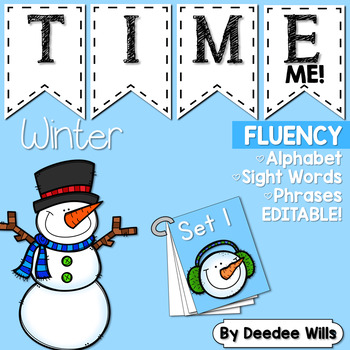 Sight Word Fluency Winter