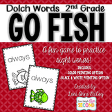 Dolch Word Go Fish! (2nd Grade)