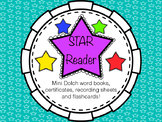 Dolch Word List, Certificates and Teacher Recording Sheet