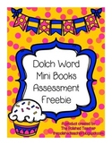 Dolch Word Mini Books Assessment Freebie