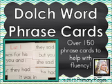 Sight Words Fluency Phrase Cards