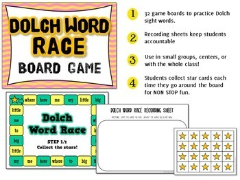 Dolch Word Game