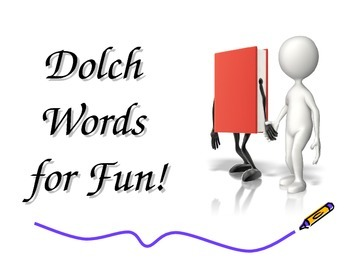 Dolch Word Slides PreK-3