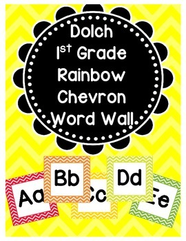 Dolch Word Wall (1st Grade)