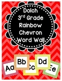Dolch Word Wall (3rd Grade)