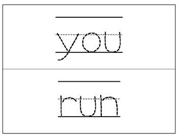 Dolch Word Wall Cards - DJ Handwriting
