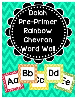 Dolch Word Wall (Preprimer)