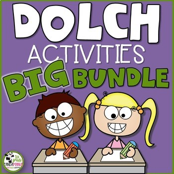 Dolch Word Wall and Activities BUNDLE!