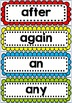 Dolch Word Wall and Track my Reading Fluency Assessment Games COMBO
