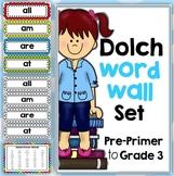 Dolch Word Walls Bundled