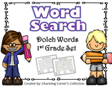 Dolch Word (Word Search ~ 1st Grade Set)