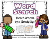 Dolch Word (Word Search ~ 2nd Grade Set)