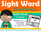 Sight Word Flip Book - Dolch Words - 1st Grade