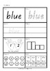 Dolch Words - Activity Sheets - Pre-Primer Level
