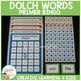 Dolch Words Bingo Primer